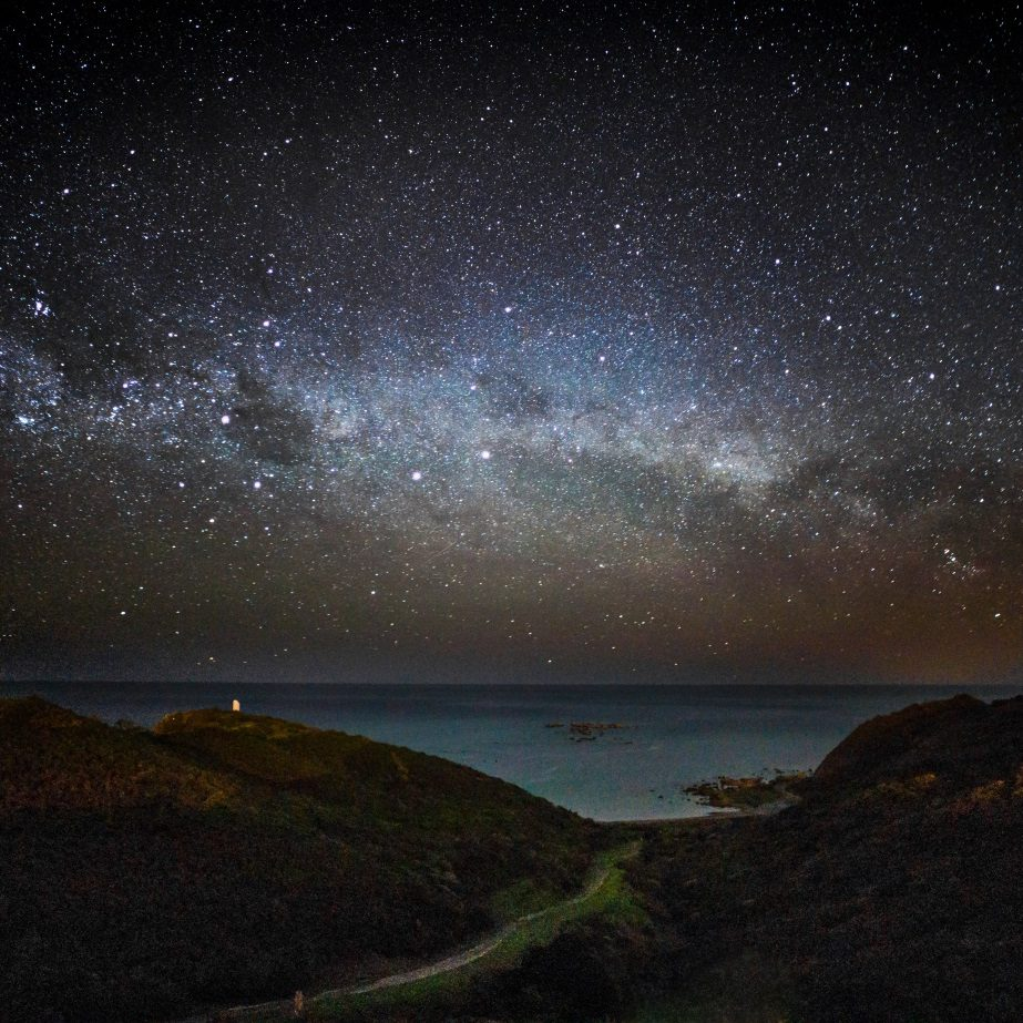 Milky Way - Wellington, New Zealand © Andrew Xu - commons.wikipedia.org