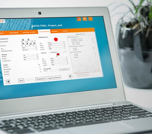 Laptop locr BATCH Tool Surface