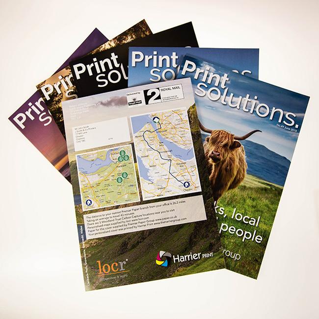 Print Solutions individualisierte Karten locr Geomarketing