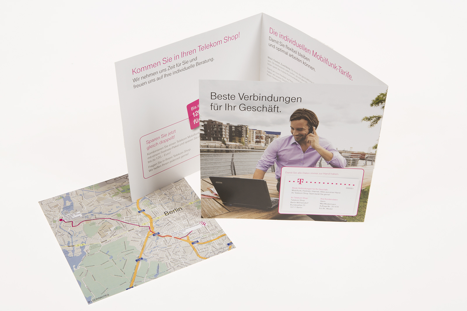 Case Study Telekom Shops Personalized locr Maps