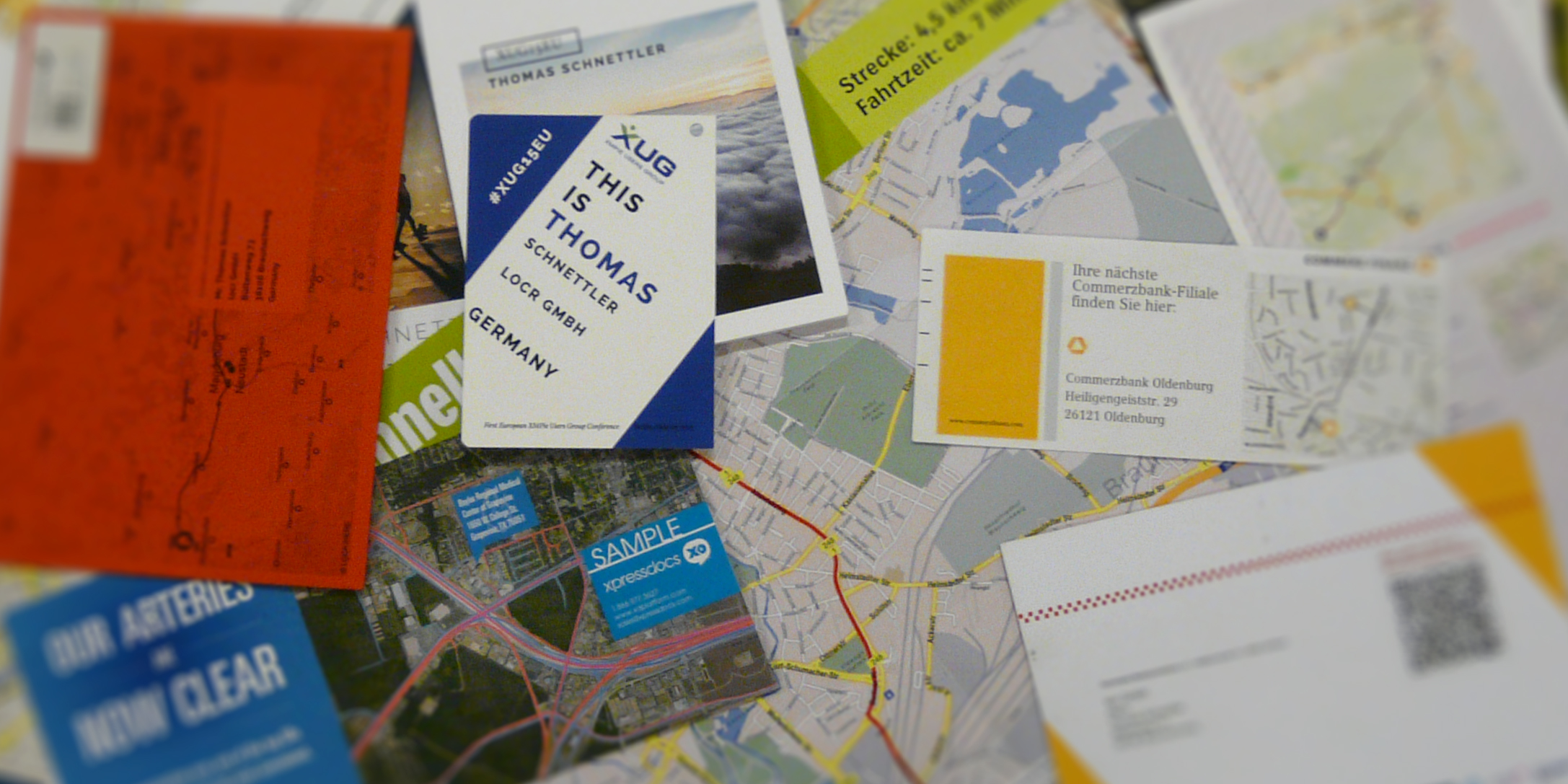 Direct Mail with Personalized Maps Content