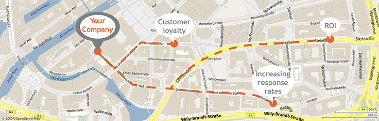 locr GEOservices and maps increase marketing success