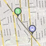locr maps Brooklyn Navigation map NAVImaps Train Station Restaurant Route