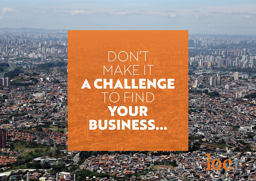 Don't make it a challenge to find your business - use locr personalized maps