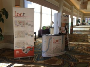 locr GEOservices and Maps at XUG17 Orlando Booth
