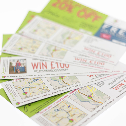 locr geomarketing direct mail campaign DeBradelei