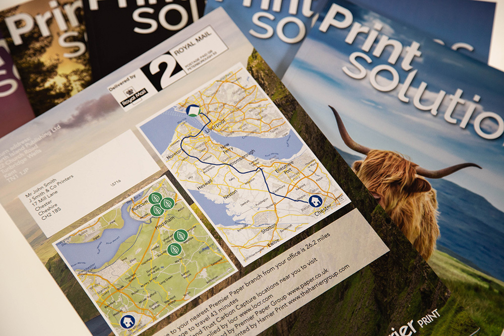 locr personalized maps for Print Solutions Cover