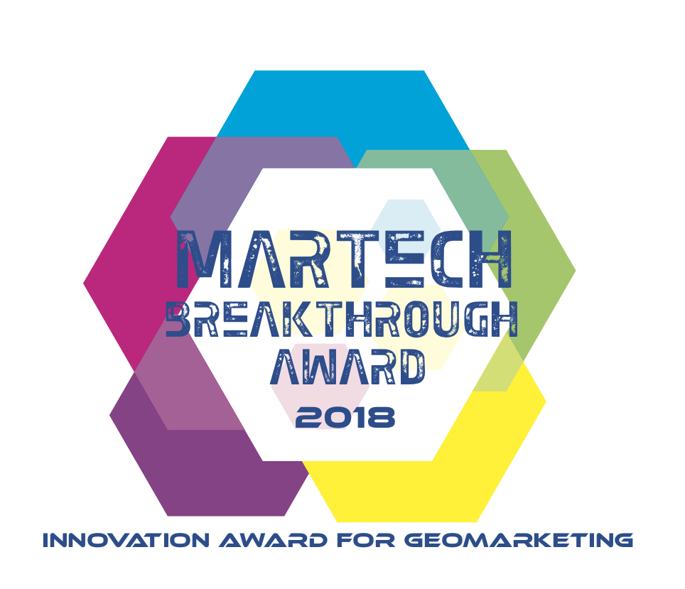 locr awarded with MarTech Breakthrough Innovation Award for Geomarketing