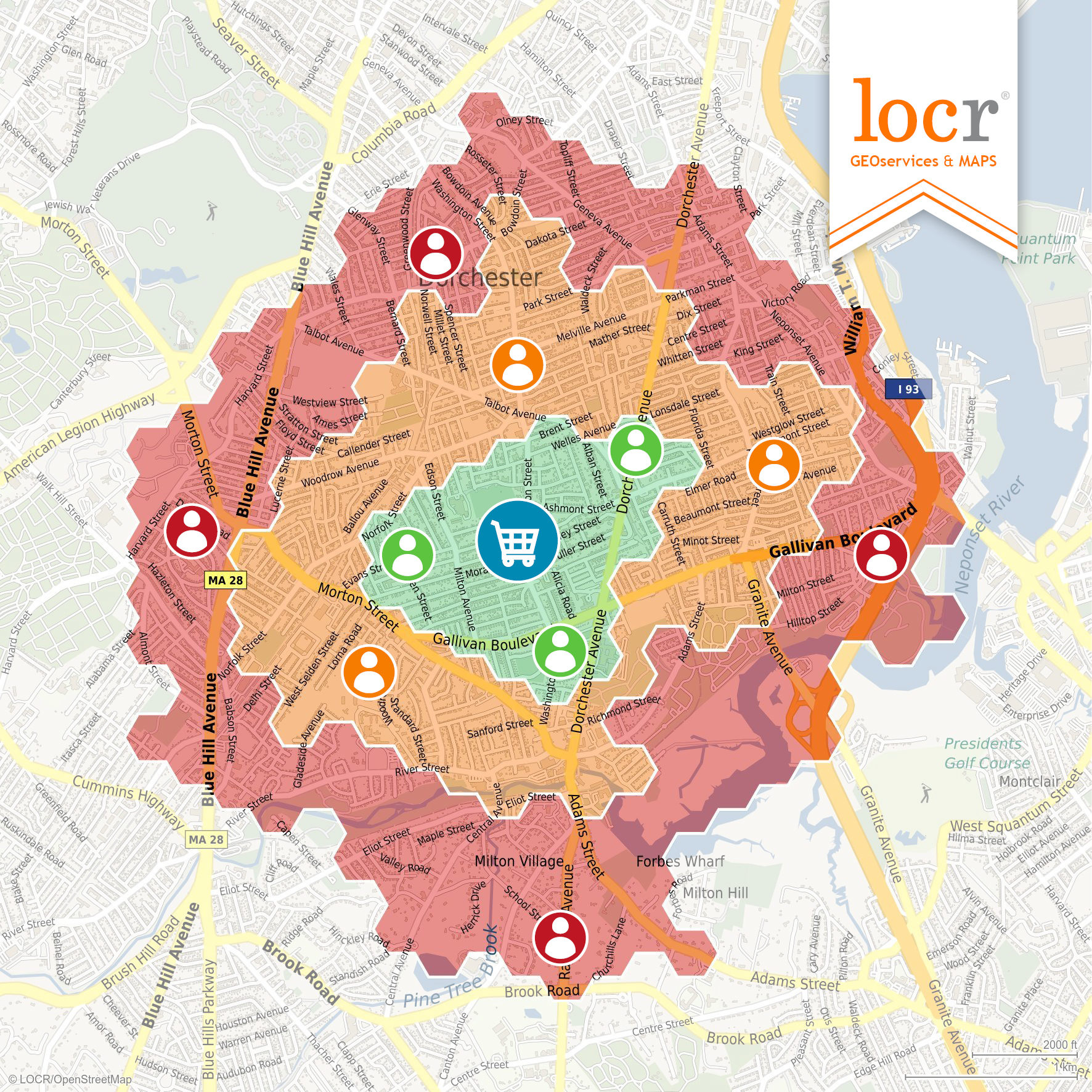 locr GEOservices Heatmap Graphic