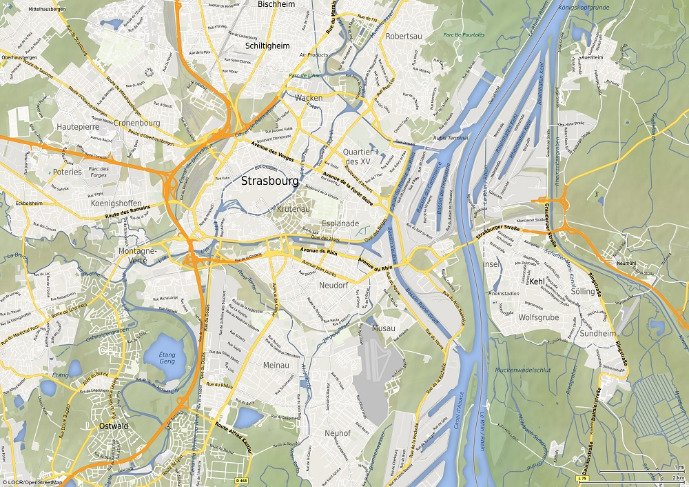 locr Personalized Maps Style 4
