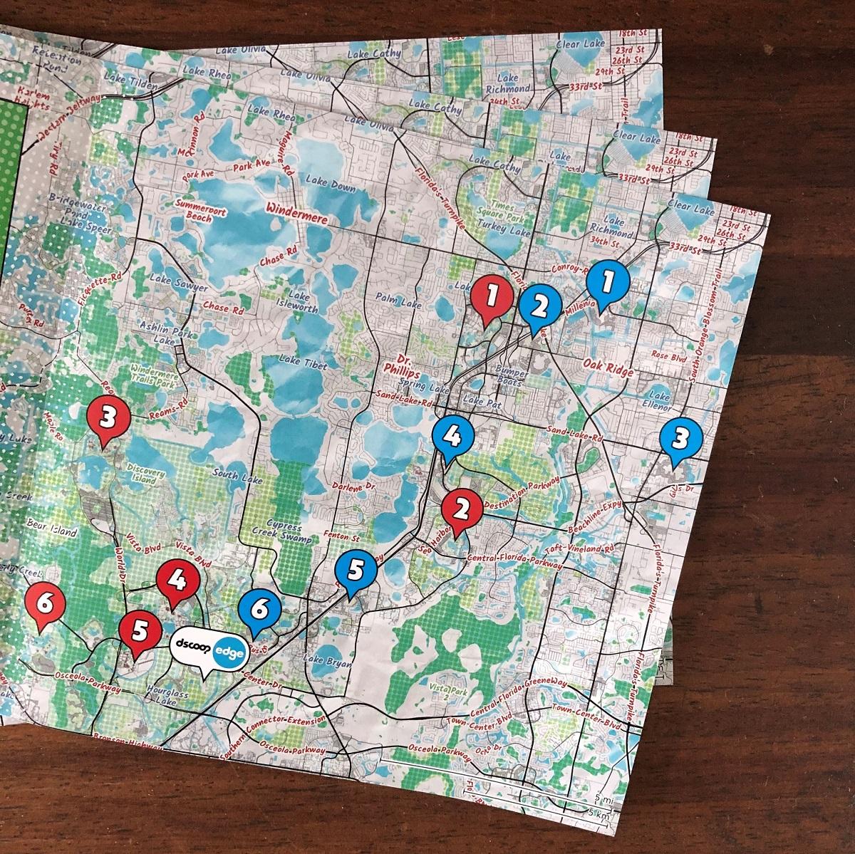 locr maps at Dscoop Orlando 2019